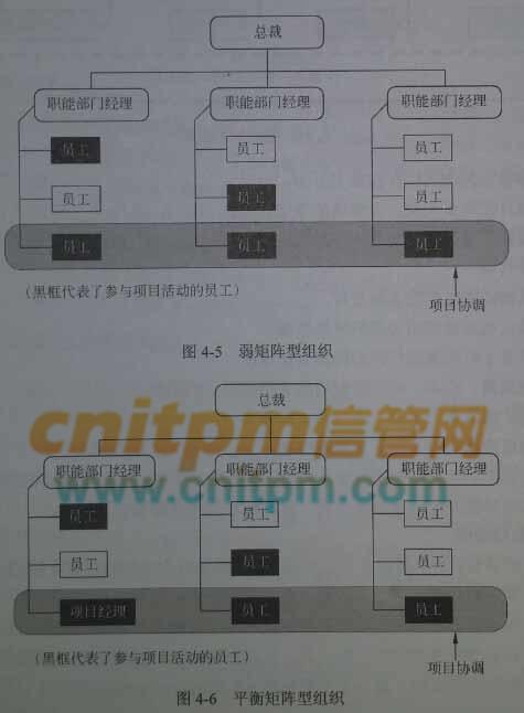 系统集成项目管理工程师第2版:组织结构-矩阵型组织